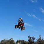 Прыжки на квадроциклах. (9)