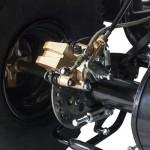Тормозные колодки на квадроцикл своими руками.