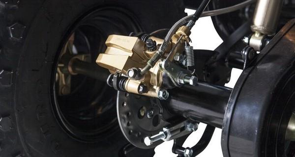 Тормозные колодки на квадроцикл своими руками