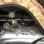 Замена топливного фильтра на квадроцикле.