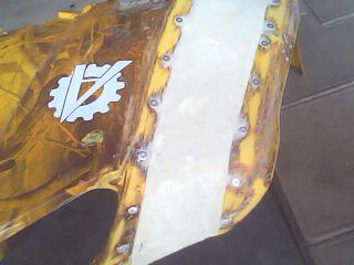 Расширители арок (крыльев) на квадроцикл 150сс своими руками. (13)