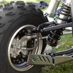 Дисковые тормоза на квадроцикле, устройство, принцип работы.