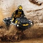 Езда на квадроцикле по грязи. Хитрости и советы.