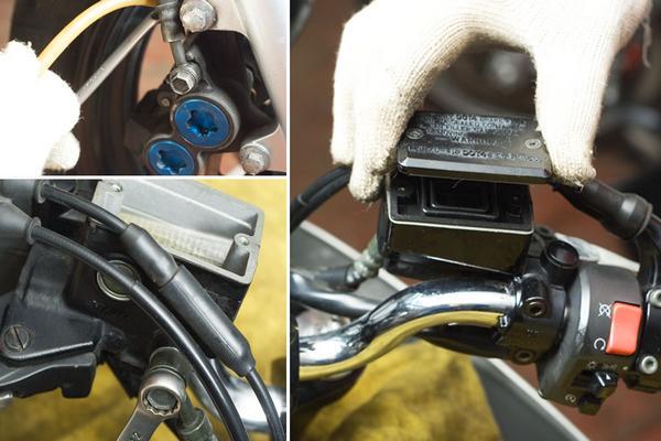 Как прокачать тормоза на квадроцикле. (6)