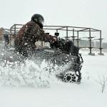 Покатушки на квадроциклах зимой (7)