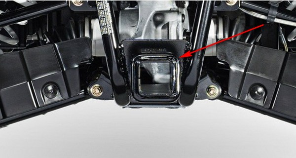 Фаркоп на квадроцикл установка и изготовление своими руками. (2)