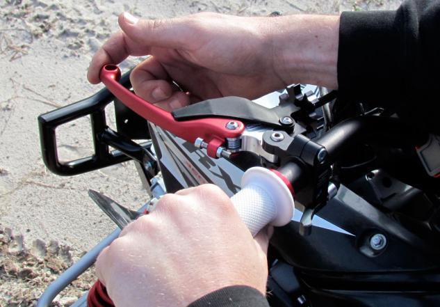 Тюнинг тормозной системы квадроцикла. (3)